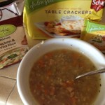 Sick Day Foods Review: Pacific Foods Chicken and Wild Rice Soup and Schar Table Crackers