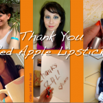 Summer of Passion Red Apple Lipstick Gluten-Free Giveaway Wrap-Up