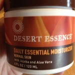 Help: Desert Essence Face Lotion Reaction?