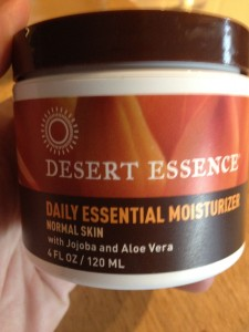 Desert essence facial moisturizer accept. The