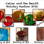 UPDATE: CATB's Gluten Free Holiday Auction for Celiac Organizations
