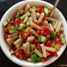 Easy pasta summer salad