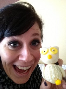 Mary Fran made me a Wilton owl!