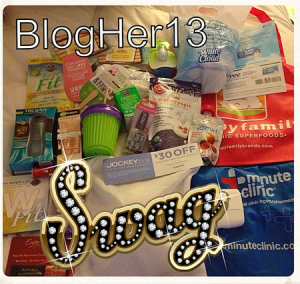 BlogHer '13 Swag