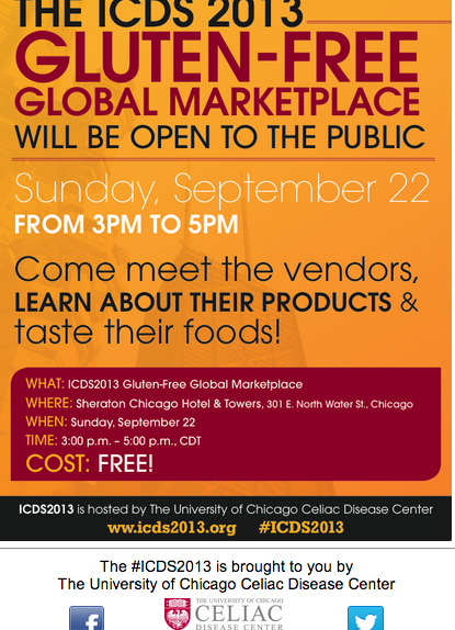 ICDS 2013 Global Gluten Free Marketplace