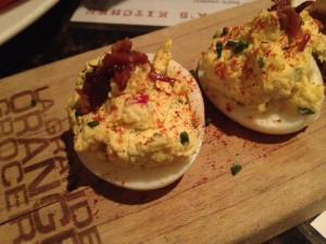 Chelsea's Kitchen Gluten Free Deviled Eggs