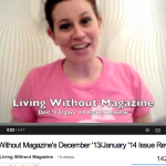 Living Without Magazine December 2013 January 2014 Review