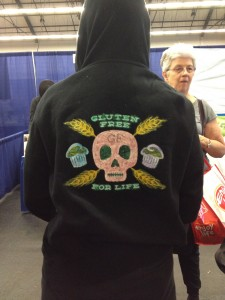 Blinged out hoodie! GFAF San Francisco