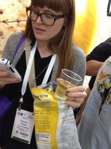 The Frux Loves Way Better Snacks Mustard & Onion!