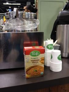 Pacific Foods' Vegetable Quinoa Soup