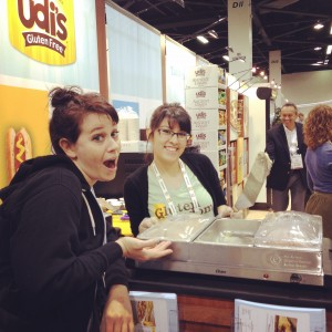 Sandra, Udi's, and Gluten-Free Lasagna - epic win!