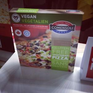 Comensali GF Vegan Pizza from Canada, eh!