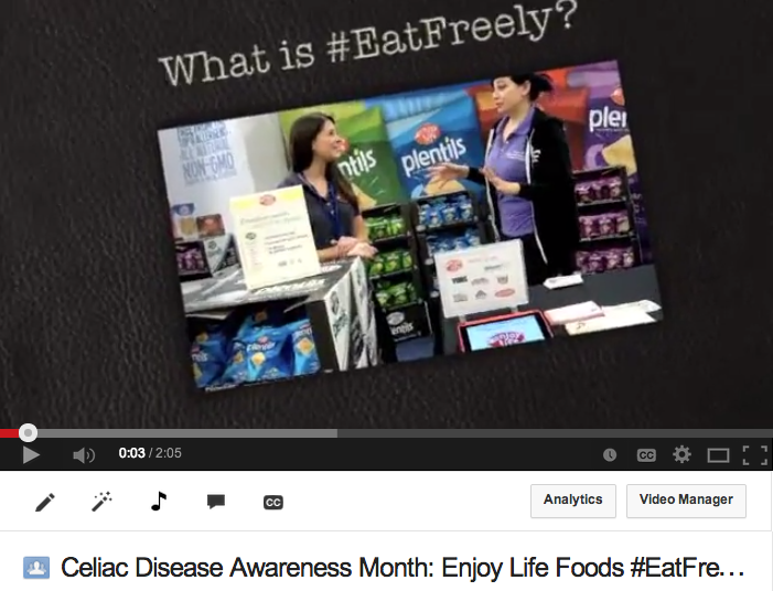 What Does Eat Freely Mean with Enjoy Life Foods?
