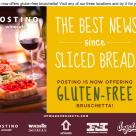 """Postino's """"gluten free"""" bread"""