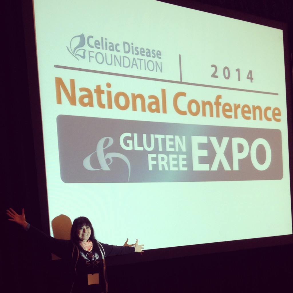 Day out at the Celiac Disease Foundation Conference