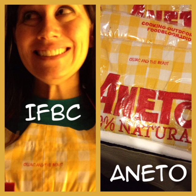 Aneto Personalized Apron from IFBC 2014