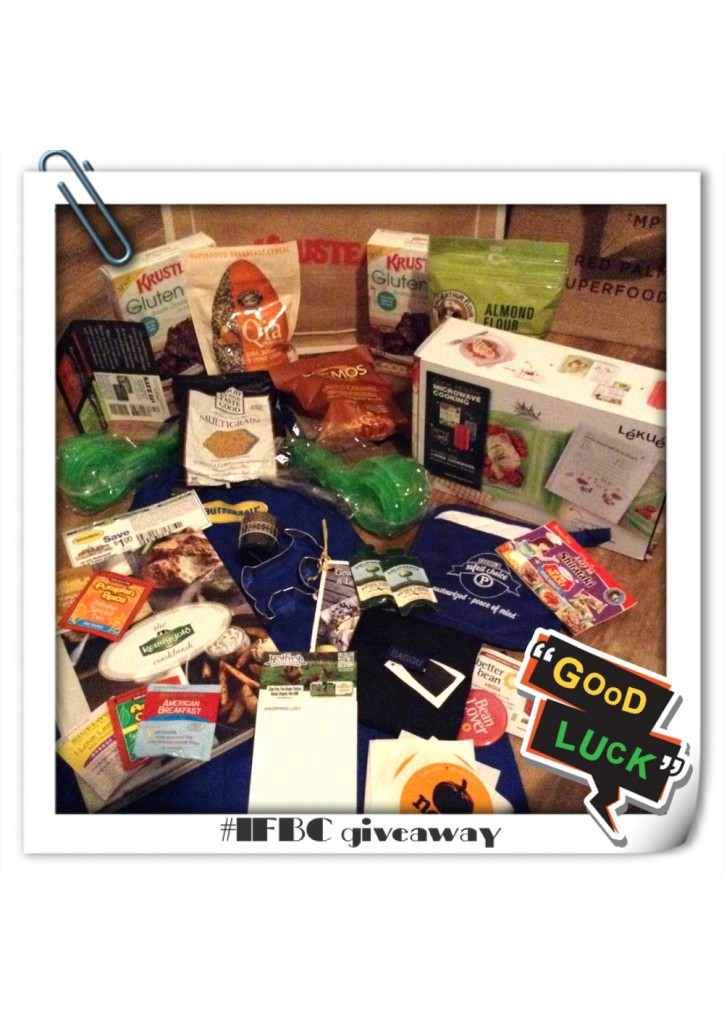 International Food Bloggers Conference 2014 Giveaway