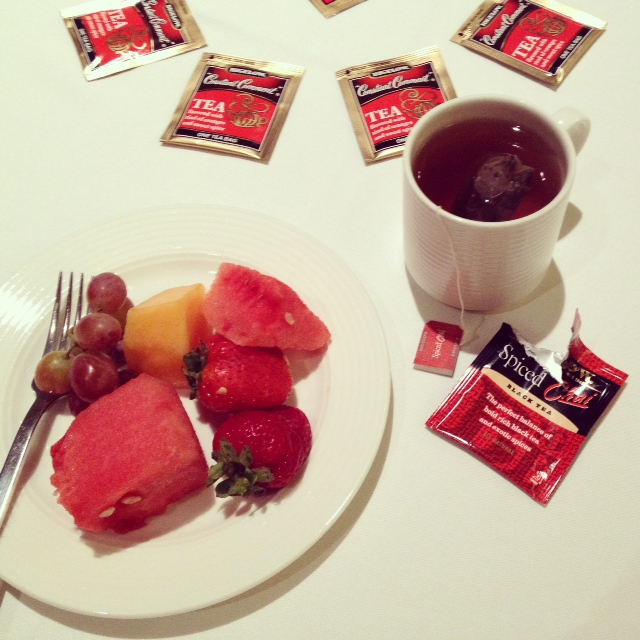 Bigelow Tea at International Food Bloggers Conference 2014