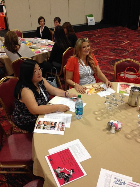 Chandice at her Pinterest FABlogCon session!