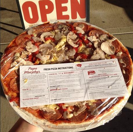Papa Murphy's & Udi's Gluten Free Pizza