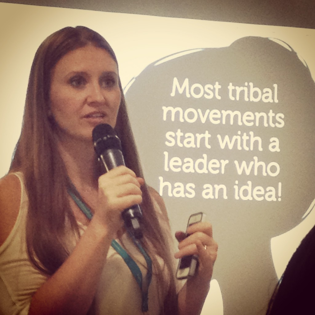 Zuri Star's panel on Tribes with Leah of ShiftCon
