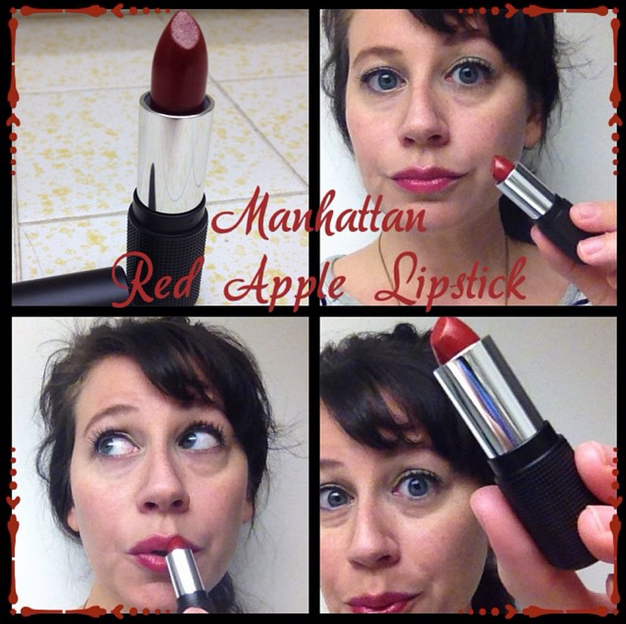 Red Apple Lipstick Holiday 2014