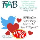 FABlogCon Twitter Party 2017
