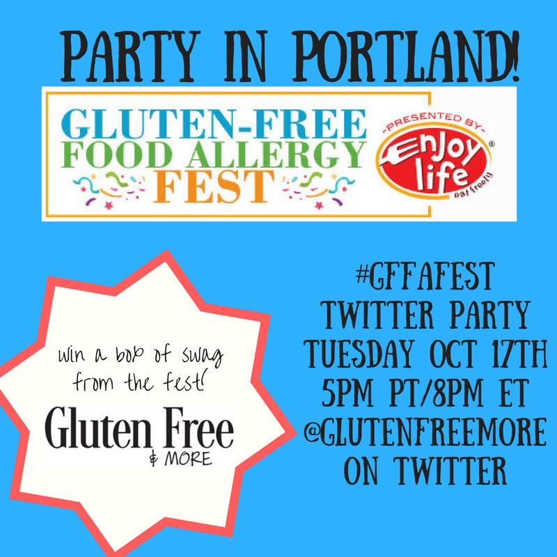 Portland #GFFAFest Twitter Party 2017