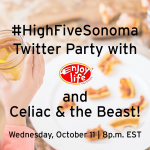 Join Me At The #HighFiveSonoma Twitter Party