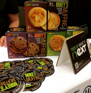 Mikey's Muffins at Expo West 2015