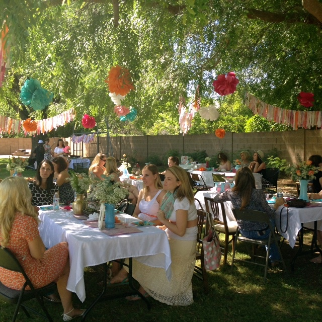 Celiac Disease Foundation East Valley Chapter Garden Beauty Party 2015