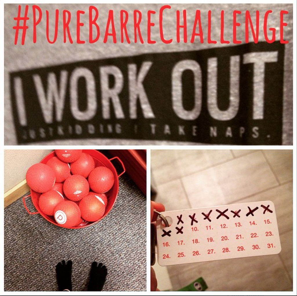 Pure Barre Pure Madness Challenge