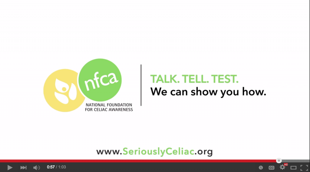 Seriously Celiac with NFCA