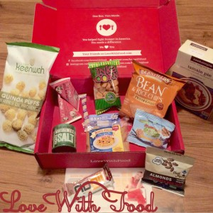 Love With Food Gluten Free Box June 2015