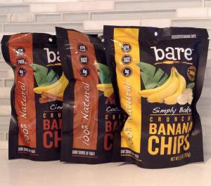 Summer Snacks 2015: Bare Banana Chips