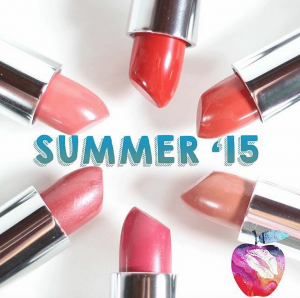 Summer Snacks 2015: Red Apple Lipstick