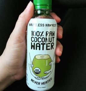 Summer Snacks 2015: Harmless Harvest Raw Coconut Water