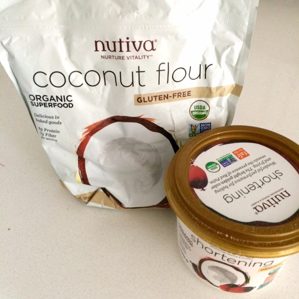Nutiva Coconut Flour and Palm Oil Shortening