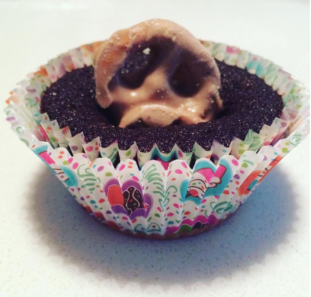 Glutino Salted Caramel Cupcake
