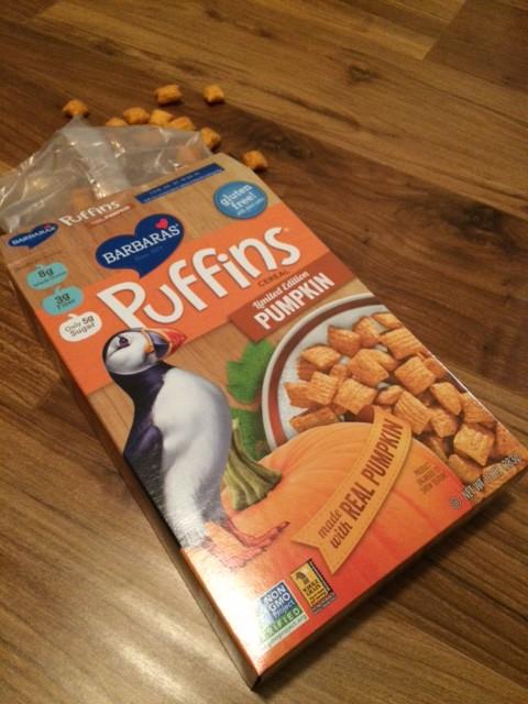 Barbara's Pumpkin Puffins