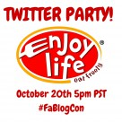 TWITTER PARTY with Enjoy Life Foods
