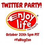 Food Allergy Bloggers Conference Twitter Party: Enjoy Life Foods