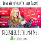 Love with Food Twitter Party