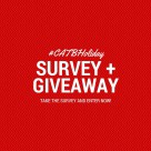Enter the #CATBHoliday survey today!
