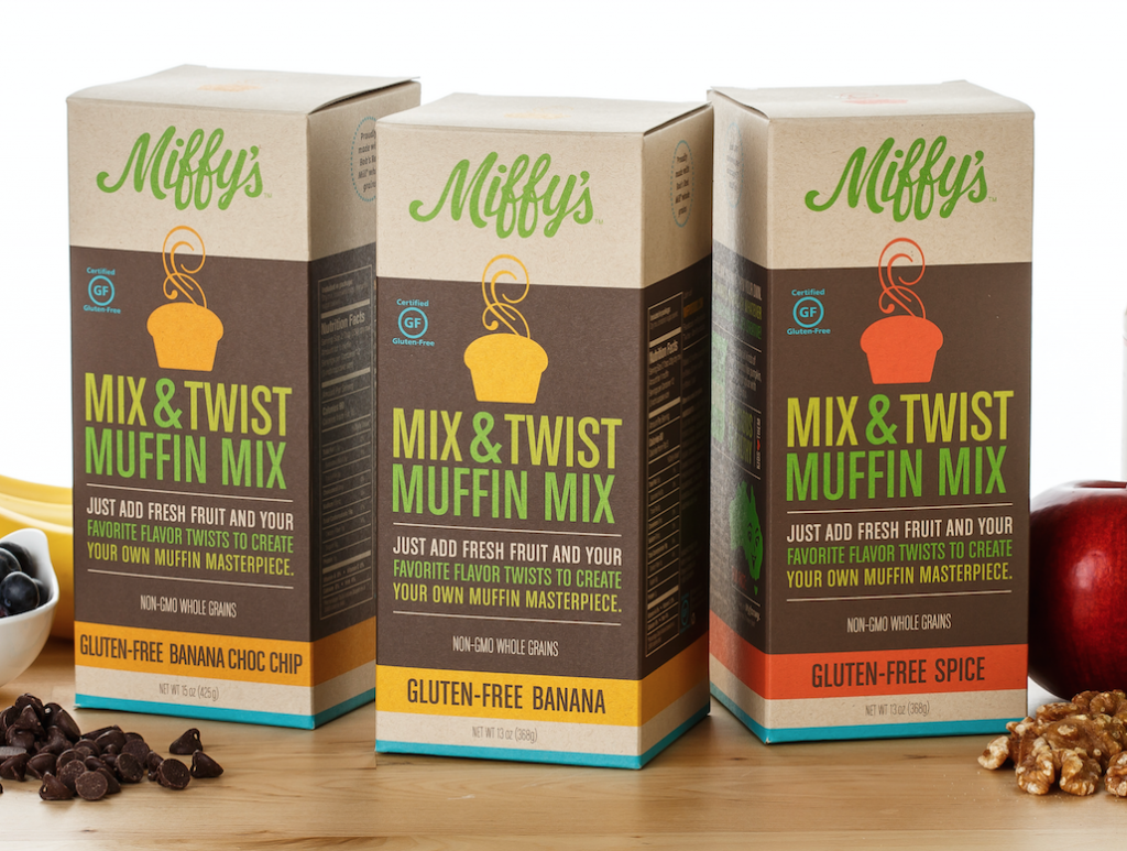 Miffy's Mix & Twist Muffin Mix