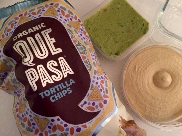 Sabra Hummus & Sabra Guacamole and Que Pasa Organic Chips