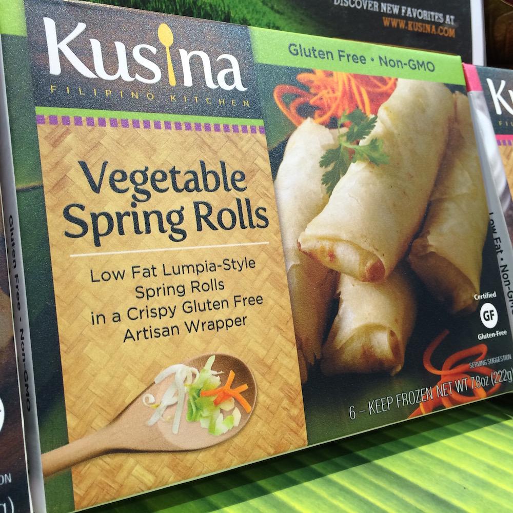 WFFS Kusina Vegetable Spring Rolls