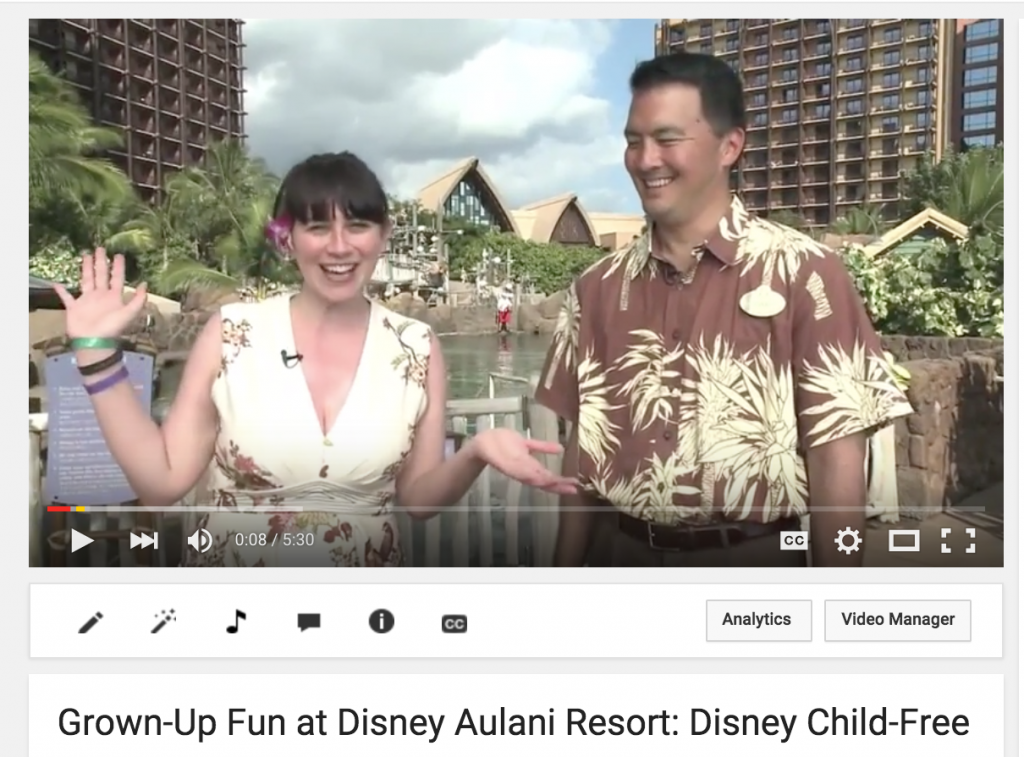 Disney Aulani Girlfriend Getaway