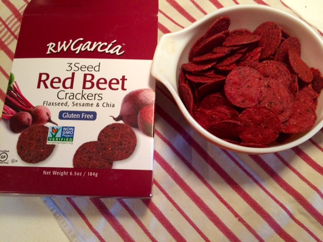 RW Garcia 3 Seed Red Beet Crackers
