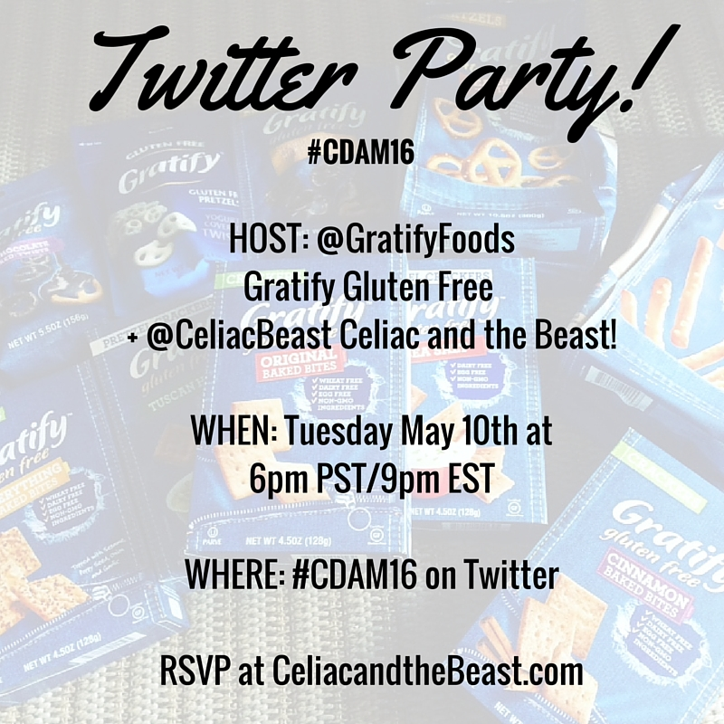 Gratify Gluten Free Twitter Party